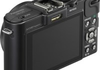 Panasonic LUMIX DMC-LX7 Digital Camera with F1.4 Lens angle back
