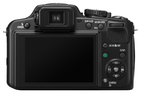 Panasonic Lumix DMC-FZ62 Super-zoom Camera back