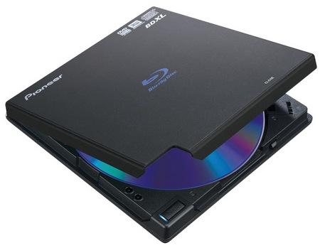 Pioneer BDR-XD04 Portable BDXL Burner black
