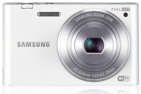 Samsung MultiView MV900F Digital Camera with WiFi white