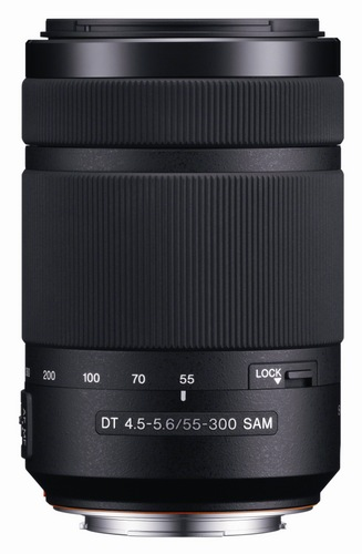 Sony DT55-300mm F4.5-5.6 SAM SAL55300 Telephoto Zoom Lens for Alpha A-Mount 1