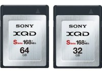 Sony QD-S32 and QD-S64 XQD Memory Cards offer 168MBs transfer rate