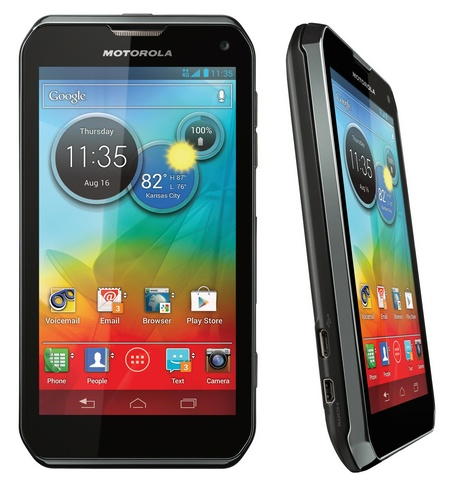 Sprint Motorola PHOTON Q 4G LTE QWERTY Smartpone front side