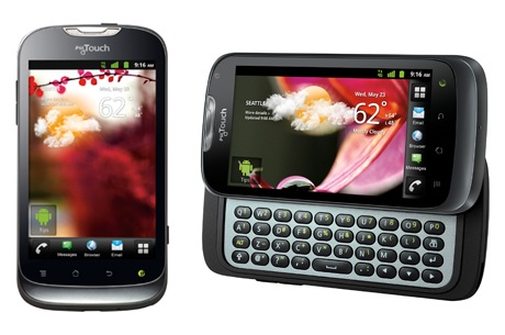 T-Mobile myTouch and myTouch Q by Huawei Android phones