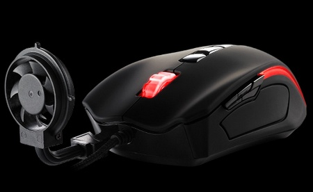 Thermaltake Tt eSports Black Element Cyclone Edition Gaming Mouse with Fan 1
