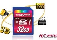 Transcend 32GB Class 10 UHS-I SDHC Memory Card