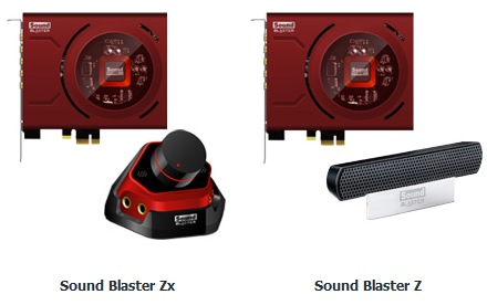 Creative Sound Blaster Zx and Z PCI Express Sound Card 1