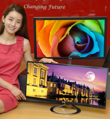 LG EA93 21-9 Cinematic Display and EA83 Professional Monitor