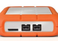 LaCie Rugged Triple USB 3.0 External Hard Drive ports