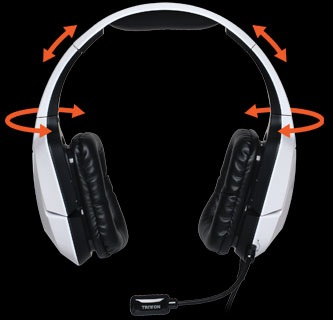 Mad Catz TRITTON PRO+ 5.1 Surround Headset with Dolby Digital adjustable