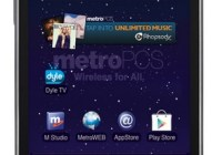 MetroPCS Samsung Galaxy S Lightray 4G Smartphone with Dyle Mobile TV 1
