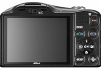 Nikon CoolPix L610 Compact Camera with 14x Optical Zoom back