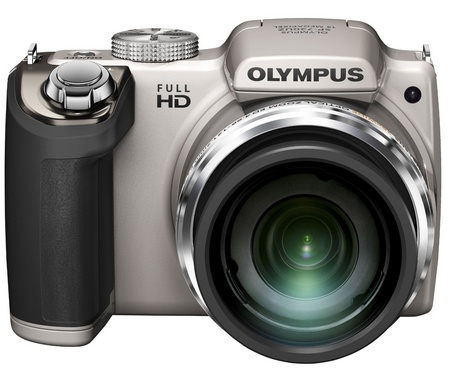 Olympus STYLUS SP-720UZ 26x Long Zoom Camera front