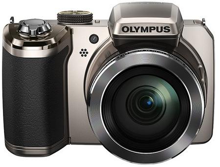 Olympus STYLUS SP-820UZ iHS gets 40x Ultra Zoom front