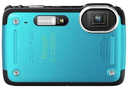 Olympus STYLUS TG-625 Tough Rugged Camera blue