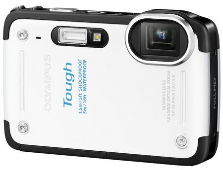 Olympus STYLUS TG-625 Tough Rugged Camera white