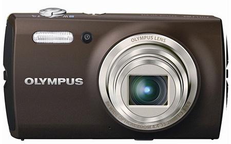 Olympus STYLUS VH-515 compact digital camera brown