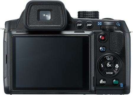 Pentax X-5 Digital Camera with 26x Long Zoom back