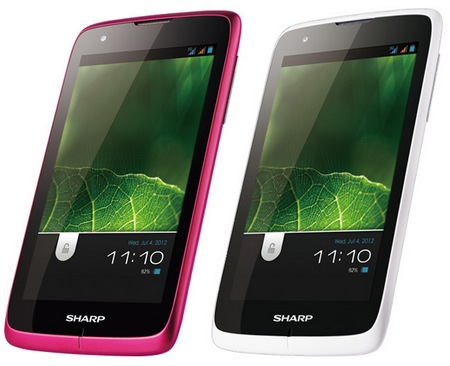 Sharp SH530U Android Smartphone gets a 5-inch Display colors