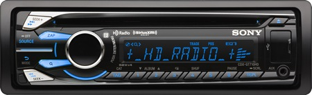 Sony CDX-GT710HD in-dash cd receiver