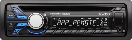 Sony MEX-BT3100P in-dash bluetooth cd receiver