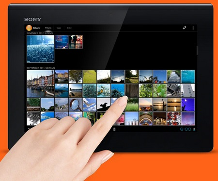 Sony Xperia Tablet S with Tegra 3 photo album
