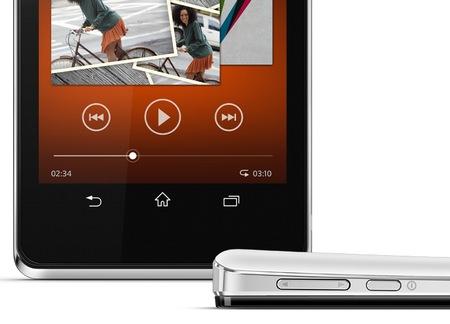 Sony Xperia V Waterproof Smartphone SIDE