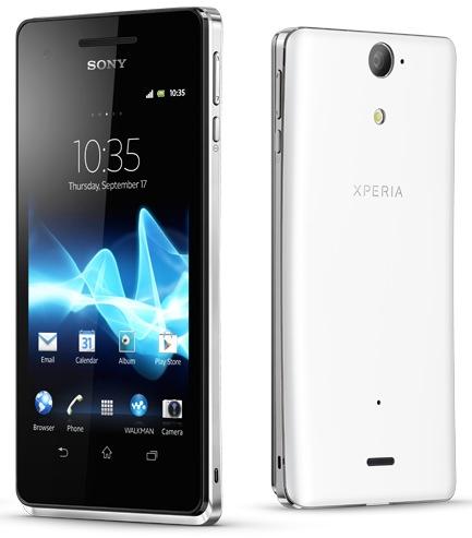 Sony Xperia V Waterproof Smartphone white