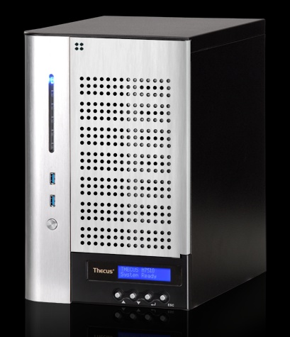 Thecus Vision N7510 7-Bay NAS powered by Intel Atom