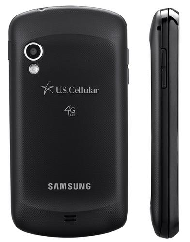U.S. Cellular Samsung Galaxy Metrix 4G QWERTY Smartphone back side
