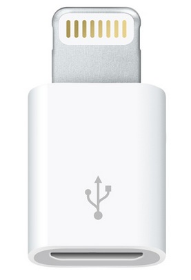 Apple Lightning to Micro USB Adapter for Europe