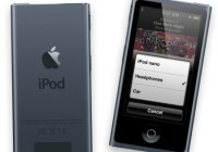 Apple iPod nano 7th gen with 2.5-inch Multitouch Display slate