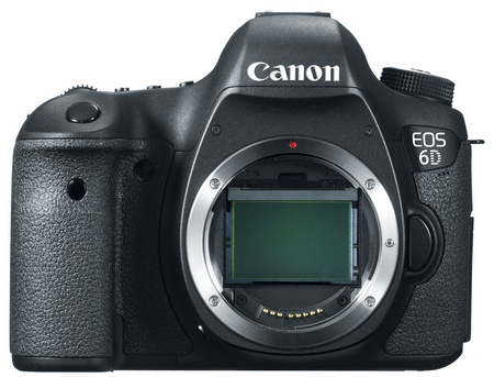 Canon EOS 6D Mid-range Full-frame DSLR Camera with WiFi and GPS no lens