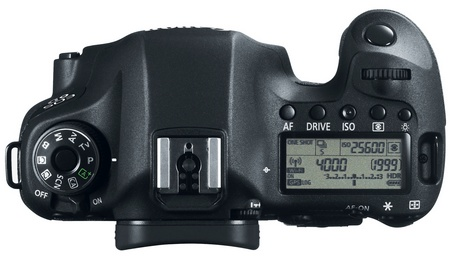 Canon EOS 6D Mid-range Full-frame DSLR Camera with WiFi and GPS top