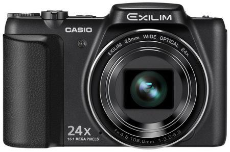 Casio EXILIM EX-H50 24x Zoom Camera black