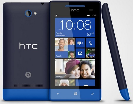 HTC 8S Mid-range Windows Phone 8 Smartphone Atlantic Blue