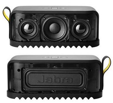 Jabra Solemate Portable Bluetooth Speaker front back