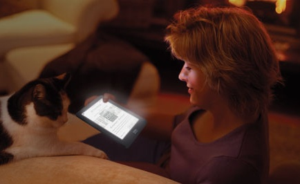 Kobo Glo e-book reader with ComfortLight 1