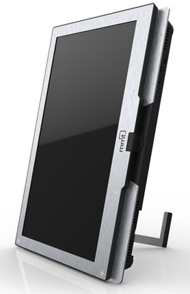 MMT Monitor2Go and Monitor2Go HD+ Mobile Secondary Displays portait stand