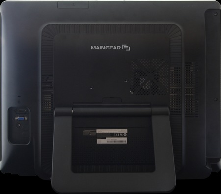 MainGear ALPHA 24 Super Stock Touchscreen All-in-one PC back