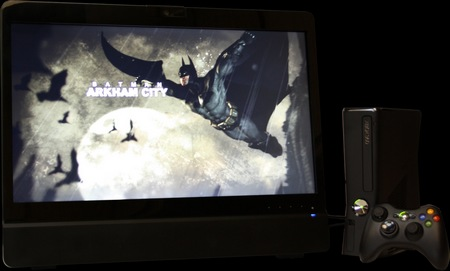 MainGear ALPHA 24 Super Stock Touchscreen All-in-one PC with xbox 360