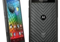 Motorola RAZR i gets 2GHz Intel Atom CPU black 1