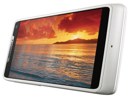 Motorola RAZR i gets 2GHz Intel Atom CPU white landscape