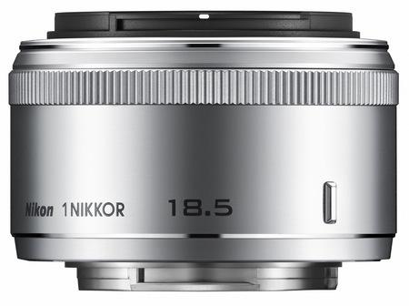 Nikon 1 NIKKOR 18.5mm f1.8 Lens for Nikon 1 System silver
