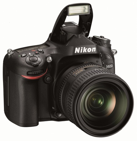 Nikon D600 Full-Frame DSLR Camera flash
