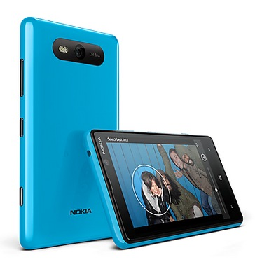 Nokia Lumia 820 Windows Phone 8 Smartphone blue