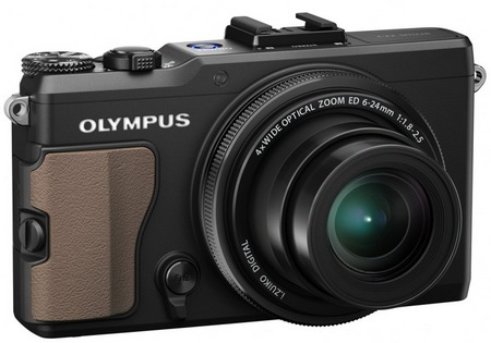 Olympus STYLUS XZ-2 iHS Flagship Compact Camera biege grip