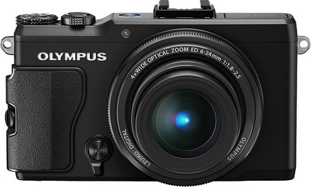 Olympus STYLUS XZ-2 iHS Flagship Compact Camera front