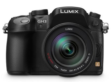 Panasonic LUMIX DMC-GH3 Micro Four Thirds Camera front