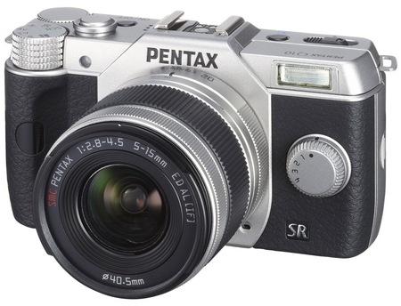 Pentax Q10 Mirrorless Interchangeable Lens Camera silver